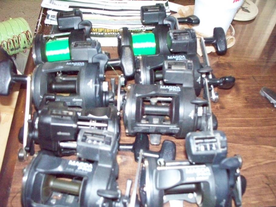 Okuma Magda Pro Line Counter Reels For Sale 20s and 30s-magda-pro-20-jpg