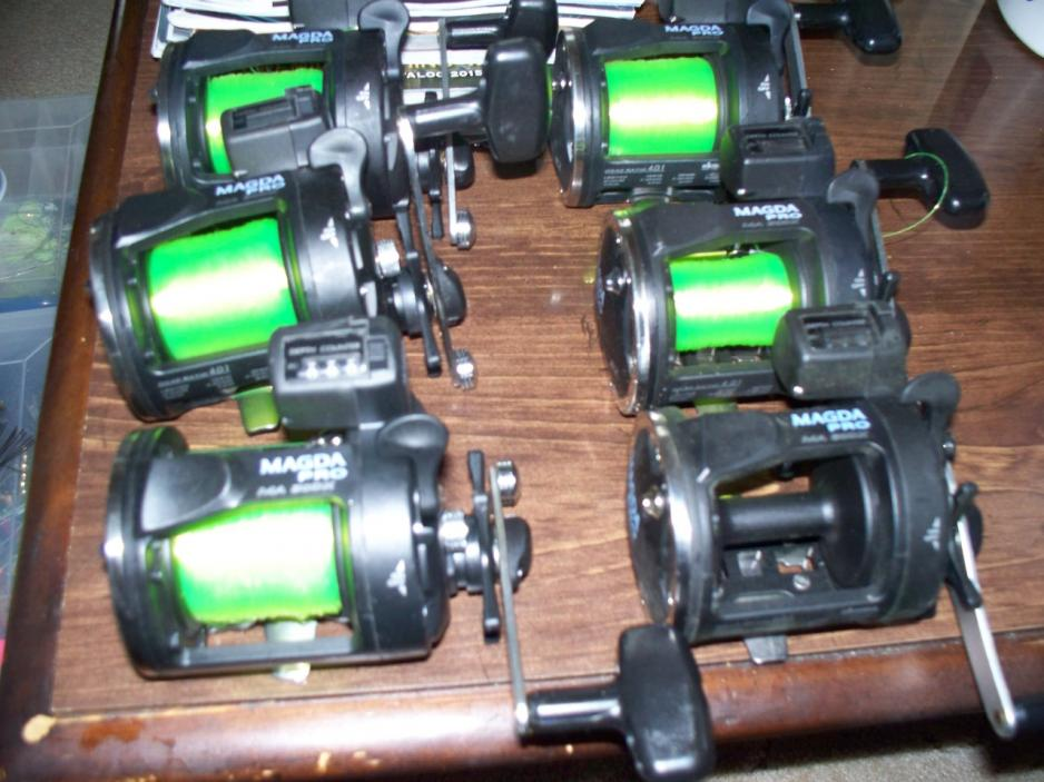 Okuma Magda Pro Line Counter Reels For Sale 20s and 30s-magda-pro-30s-jpg