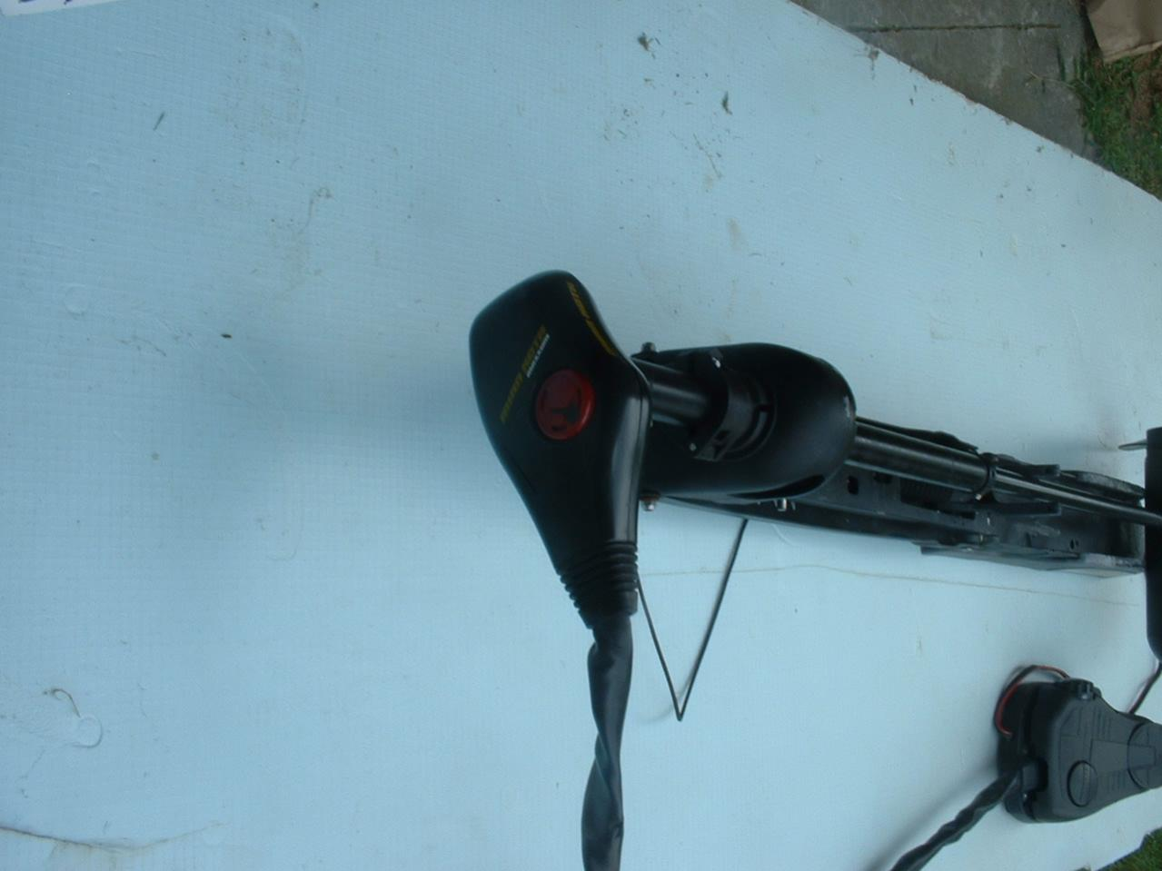 "Minn Kota, 36 volt, bow mount 60"" shaft electric trolling motor-dscf0010-jpg"