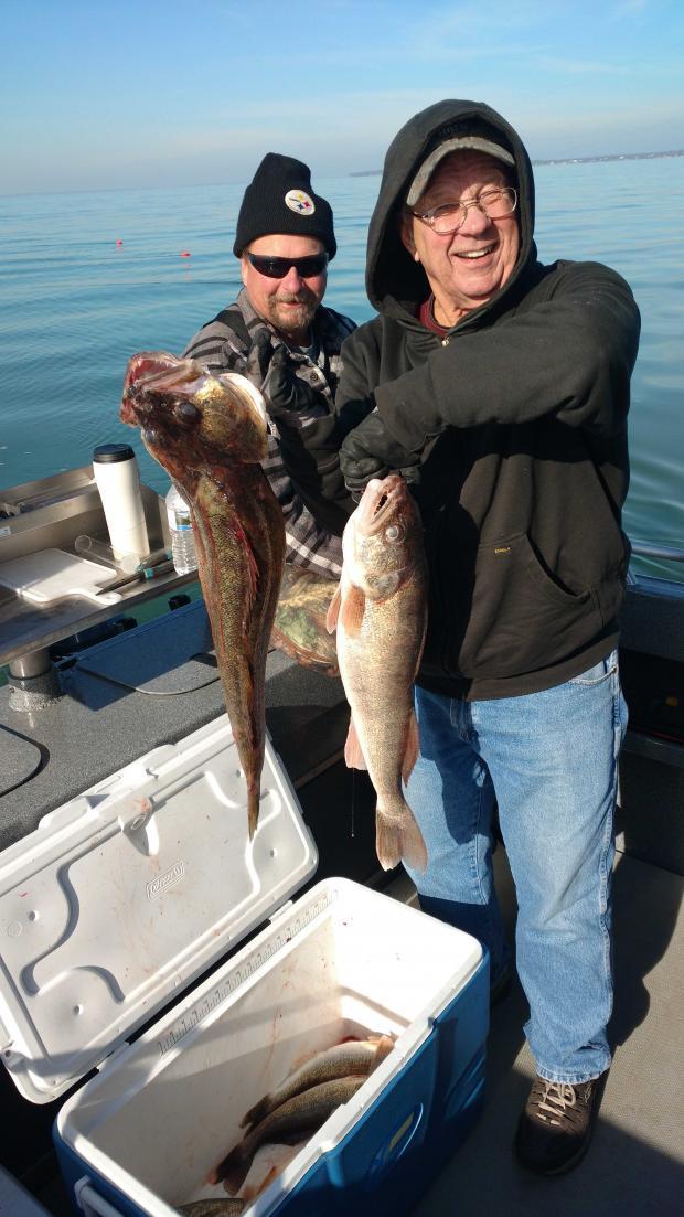 Monday morning on the lake-fish-jpg