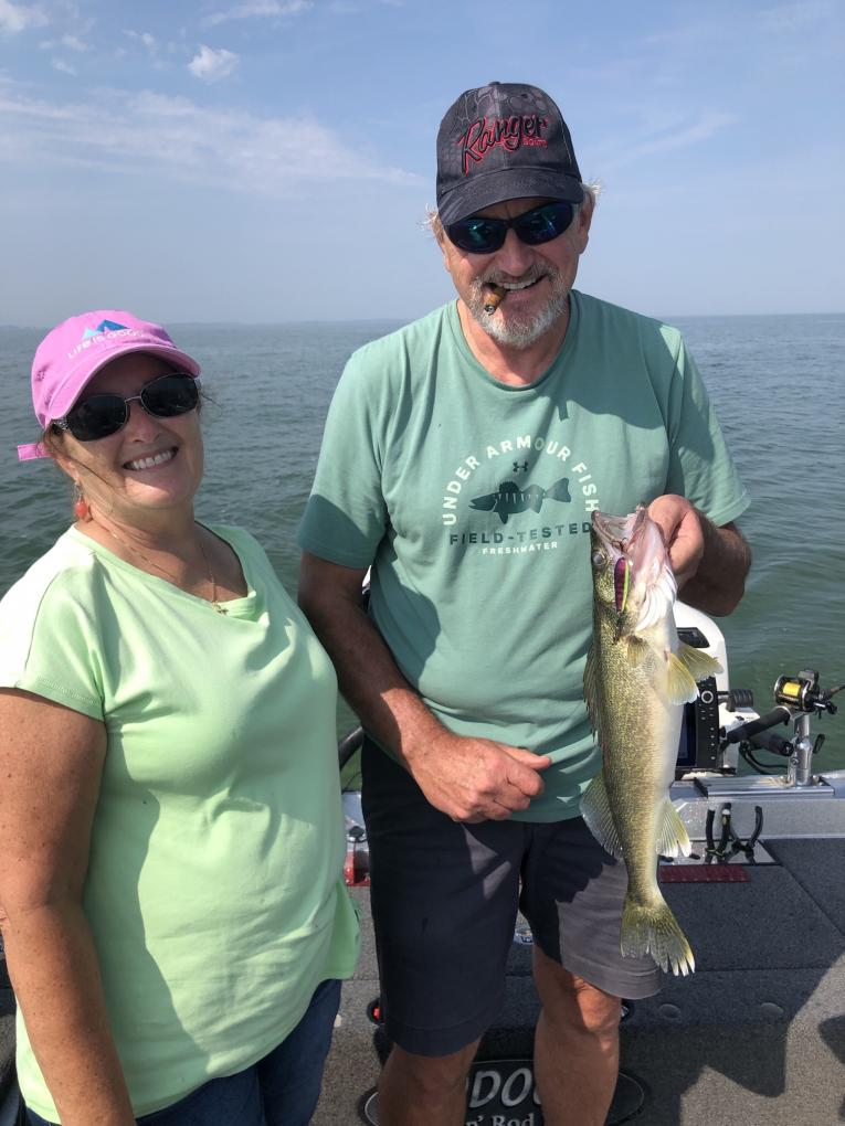 Fishing with Dave and Debbie DeVroy 9/11/19-dave-debbie-devroy-9_11_19b-jpg