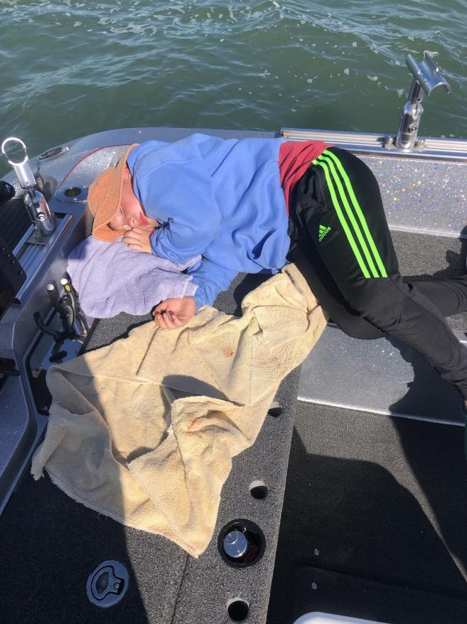 Fishing with Kim, Garrett, Wyatt, and Wesley Ullman 10/9/19-kim-garrett-wyatt-wesley-10_9_19d-jpg