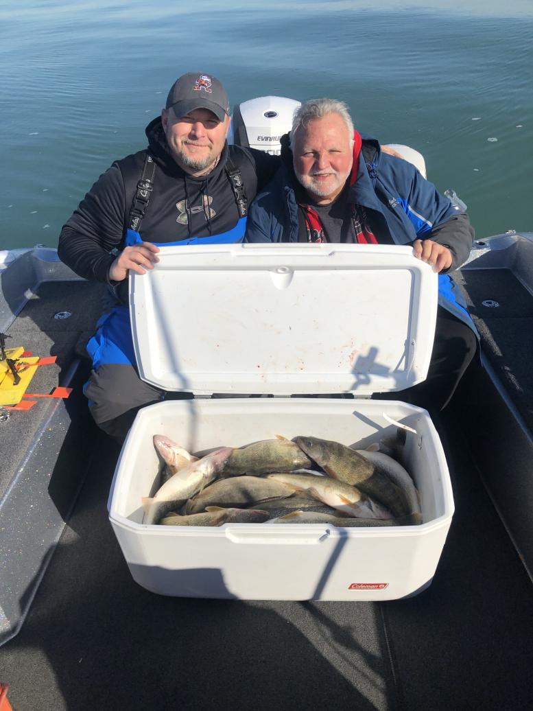 Fishing with Marc Miller, Cody, and Collin 11/17/19 What a Difference a Day Makes!-steve-jeremy-11_18_19b-jpg