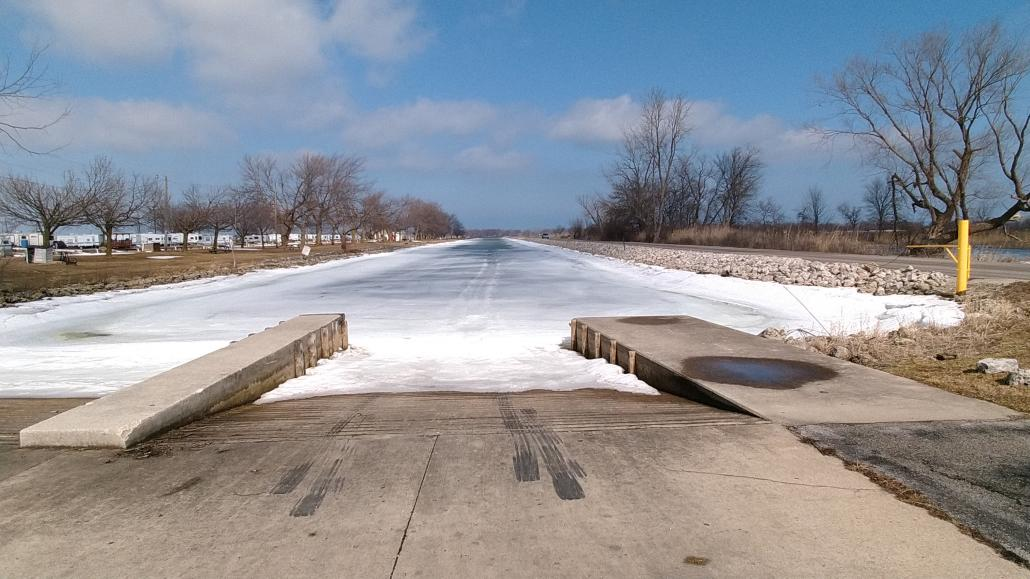 Open water-lake-erie-metzger-march-launch-ramp-iced-022721-jpg