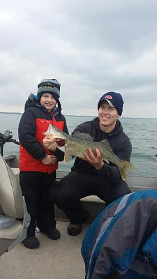 AthensKid Father & Son December 2015 walleye trip
