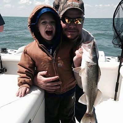fatherandsonwalleye