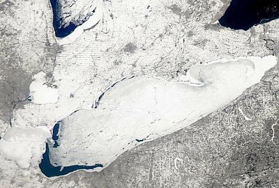 Start of the Lake Erie Thaw