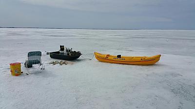 Lufstofish last ice trip for 2015 by Walleye_Rick in Main Album