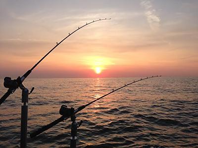 Rod Holders at Sunrise by Walleye_Rick in Main Album