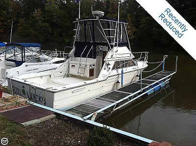 1989 33' Tiara Sports Fisherman FOR SALE $39,900