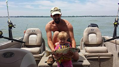 4 yrs old and catches fish