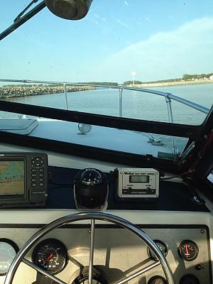 Leaving Bass Haven in the La Cory II by Buc-Eye in Member's Categories
