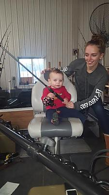 Future fishing Buddy by D.D.E. in Member's Categories